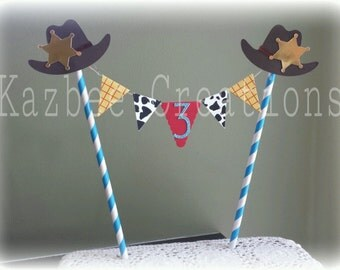 Toy Story Inspired - Cake Topper - Cake Bunting