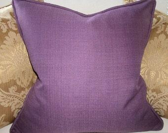 Kravet Couture Eggplant Accent Pillow