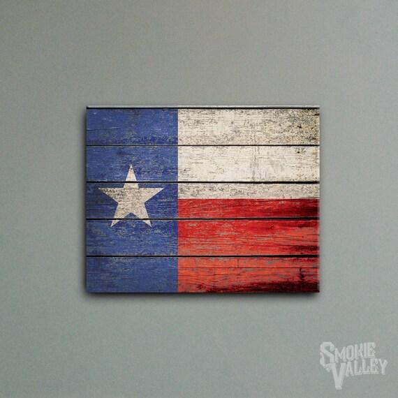 Items Similar To Distressed Texas Flag