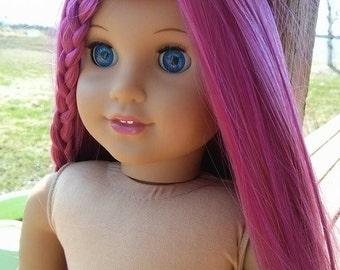 Custom American girl doll rewig
