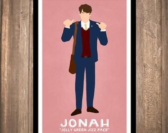 """INSTANT DOWNLOAD - Veep """"Jonah"""" Print"""