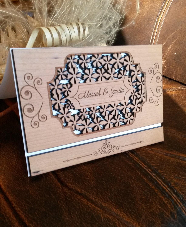 amazing laser cut wood wedding wood wedding invitations wood wedding invitation zoom