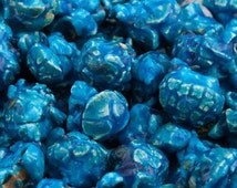 Blue Color Candy Flavored Popcorn by Party Presentation