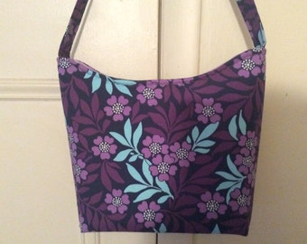 Purple Flower Handbag