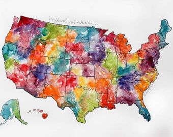 Scratch Off Map Usa Mapusaticketsboxus - Watercolor scratch off map