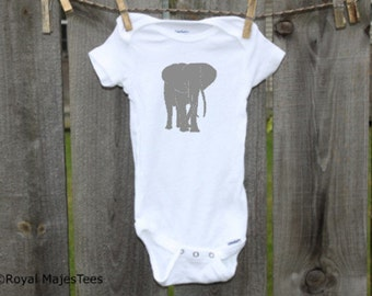 Safari Elephant Onesies®, Elephant Baby Shower