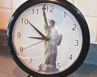 Statue Clock Etsy