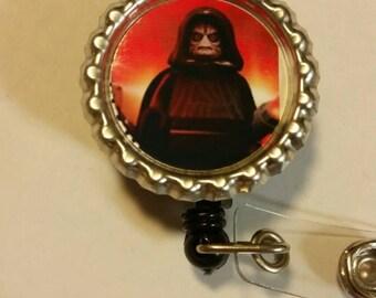 Starwars bottlecap id badge reel