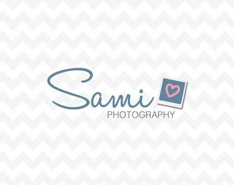 Photography Logo - Premade Logo Design - Watermark - Small Business Logo - Fashion Logo