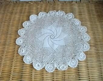 Vintage doily -  fine crochet