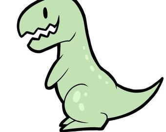 Tyrano Dino Charm