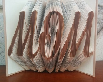 MOM - Folded Book Art - Fully Customizable, Mom, Mother's Day