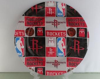 Houston Rockets Decorative Plate