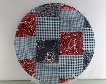 Bandana Decorative Plate