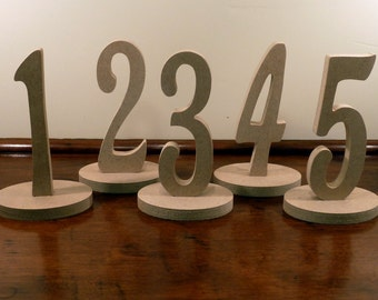 Table Numbers for Weddings, Birthdays, Anniversaries and other Special Occoasion.