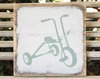 Vintage Tricycle Wall Art