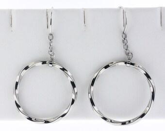 Stainless in Hook earrings
