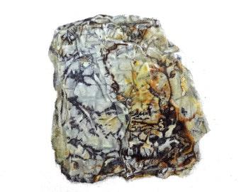 mannen Matte Print of original oil painting Dendrite A4  5x7 postcard