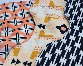 Trendy Tribal Baby Shoulder Burp Cloths