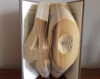 40 Folded Book Art