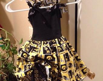 Iowa Hawkeye Dress Cheer Outfit