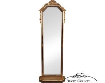 Narrow mirror etsy for Long narrow decorative mirrors