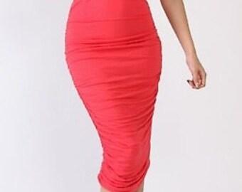 Two piece Midi skirt Set
