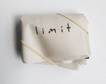 Limit- artist book