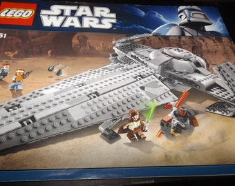 Lego Star Wars assembly booklet 7961
