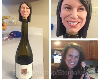 custom Wine stopper doll