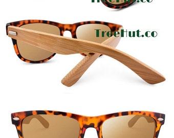 Mens gift, Wooden Sunglasses   Tree Hut wood sunglasses, wayfarer sunglasses, sunglasses, Sunglasses for men,  HUT-W3