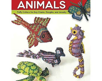 Beaded Wild Animals Book