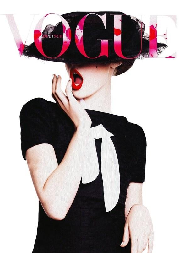 Vogue Magazine Cover 2010 Advertisement Print By Printartworks