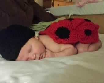 Lady Bug Baby Photo Prop