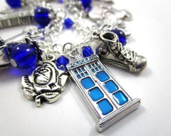 Doctor Who Deluxe Charm Bracelet