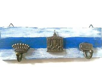 Vintage Carnival Key Holder -Merry-go-round Key Hanger -Key Organiser