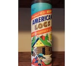 SALE - American Logs Vintage Toy Set by Halsam