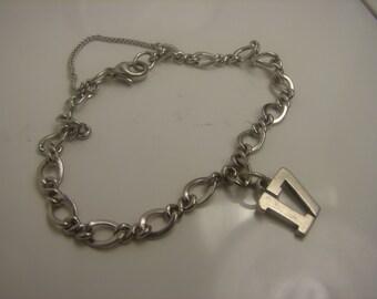 "James Avery Charm Bracelet with ""17"" Charm 245 ."