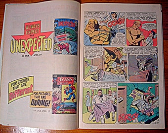 """vintage comic book - """"Batman and the Teen Titans"""" #102, batman collectable comicbook, """"Commune of Outcasts"""""""