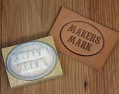 Custom Hard Plastic Leather Stamp