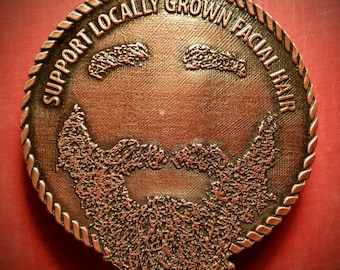 Bearded Belt Buckle