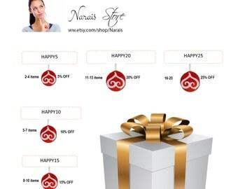 DISCOUNT COUPON CODES - Save Moneyon Multiple Purchases - How to use coupon codes - Please don't buy this listingSpring
