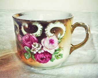 Turn of the Century Fine China Moustache Çup