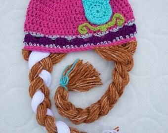 SALE! Frozen Anna-Inspired Beanie Hat