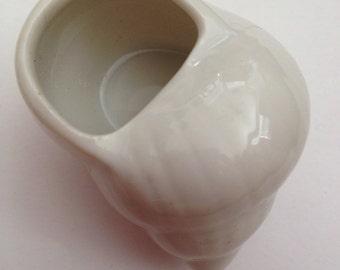 1960's 100% Porcelain Escargot Shells . Made in Japan.