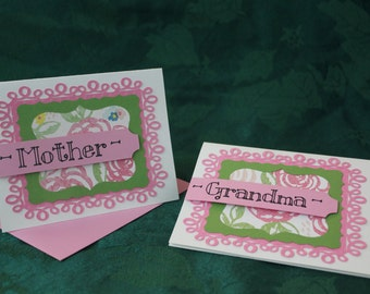 Mother/Grandma card