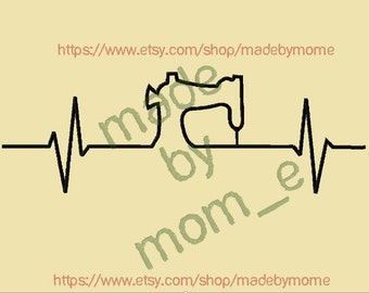 Heartbeat of an Embroidery/Sewing/Applique Addict