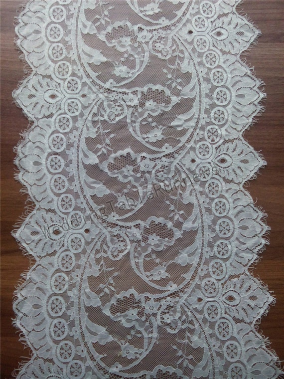 10ft ivory lace table runner 13 white table runners for 10 foot table runner