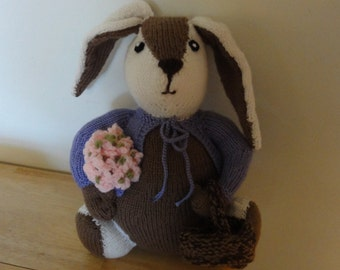 Knitted Ester the Bunny