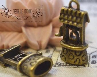 QKA069 070 072 073 074 Wells nodes Heart Christmas bell skirt pendant jewelry charms manual